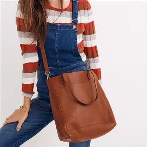 Madewell Transport Tote Leather Brown